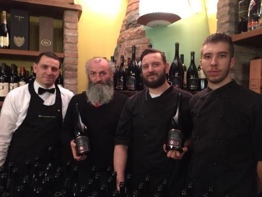 Il gusto e la storia delle birre San Biagio in tavola alla Trattoria Falconi