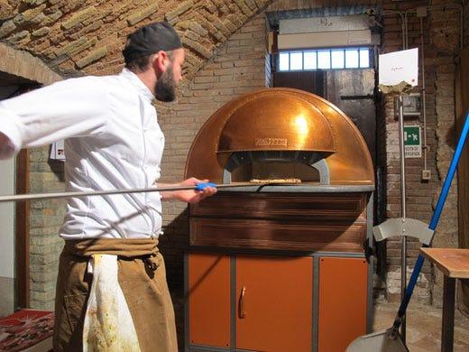 Scugnizzo napoletano il forno elettrico con gli stessi - Forno senza canna fumaria ...