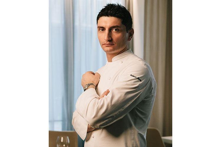 Seconda stella per Andrea Aprea «A Natale suocera in cucina, io a tavola»