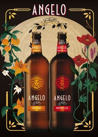 """""""Selezione Angelo"""" del Birrificio PorettiLa £$premium$£ che rievoca la tradizione"""