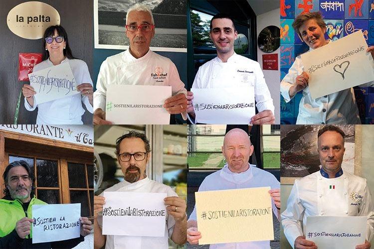 Sempre più adesioni per l'iniziativa #SostieniLaRistorazione