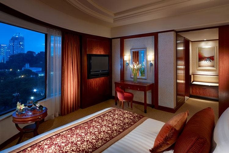 Shangri-Là, club per clienti executive A Kuala Lumpur soggiorno 5 stelle lusso