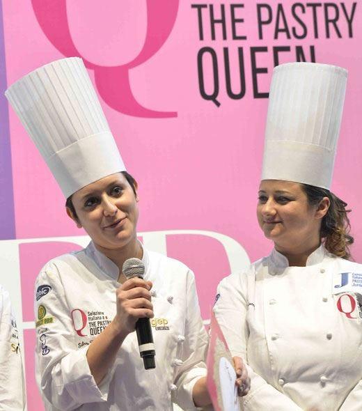 Silvia Boldetti e Mattia Cortinovis assi della pasticceria italiana al Sigep