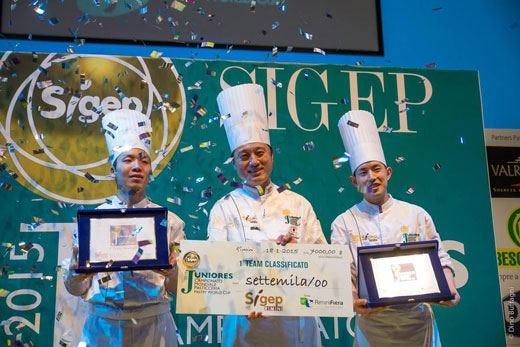 Al Sigep di Rimini il Giappone vince il Campionato Juniores di pasticceria