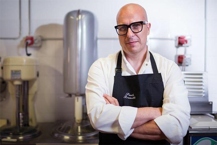 Sigep, il gelatiere Paolo Brunelli conquista i Tre Coni del Gambero Rosso