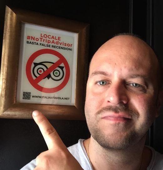 Anche la Gastrosteria Ai Mercanti sostiene l'iniziativa #NoTripAdvisor