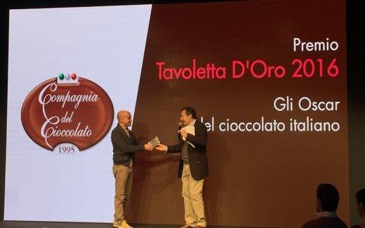Il cioccolato di Modica Sabadì conquista la Tavoletta d'Oro 2016