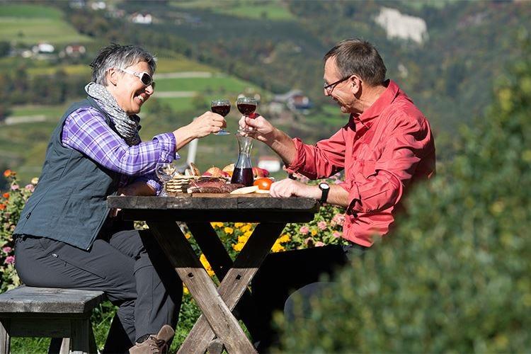 Sull'Alpe di Suisi è tempo di... vino Un viaggio di gusto tra masi e cantine