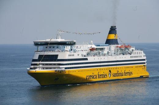 Cucina d'eccellenza fiore all'occhiellodelle navi Corsica Sardinia Ferries