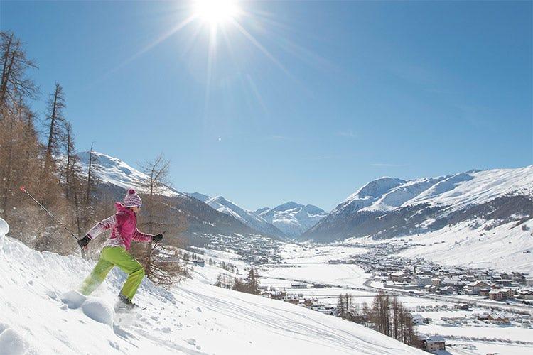 E la tranquillità di prenotarsi la propria fuga tra la neve con cancellazione gratuita - Un inverno alternativo a Livigno Ciaspolate e cucina a domicilio