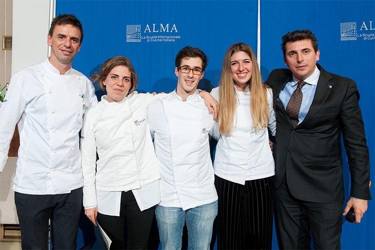 Sono 71 i neo-cuochi professionisti del 33° Corso di cucina italiana di Alma