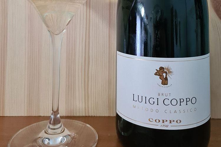 """£$Ripartiamo dal vino:$£ Spumante Brut Metodo Classico """"Luigi Coppo"""""""