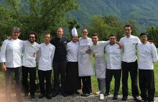 La nuova carta del ristorante La Preséf by Gianni Tarabini e Franco Aliberti