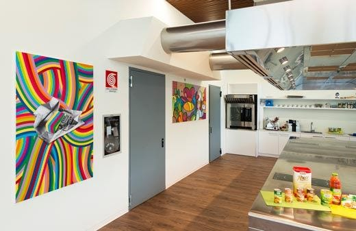 Nuova sede milanese per Star Uffici rivoluzionari e culinary center