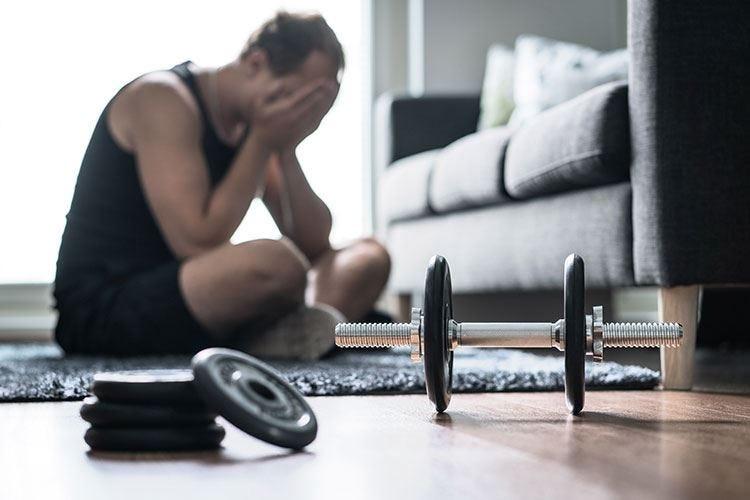 Stop all'attività sportiva? Dannoso per corpo e cervello