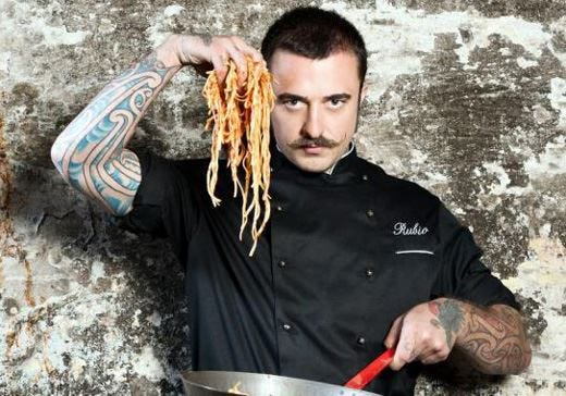Nasce Street food academy a Parma Chef Rubio ci mette la faccia