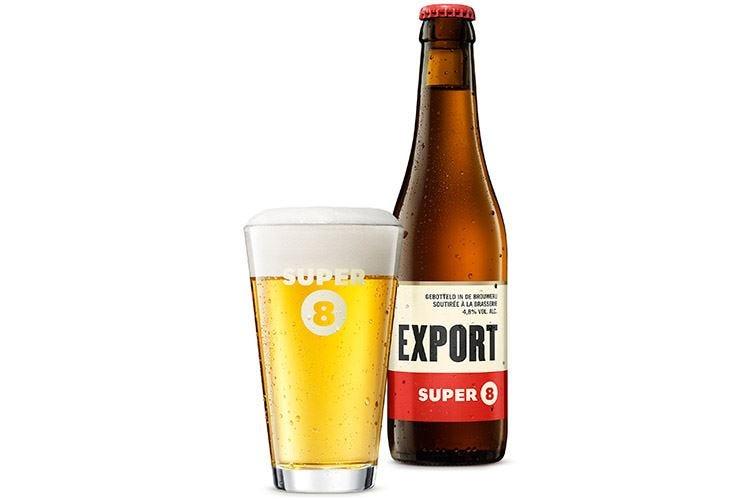 Super 8 Export del birrificio Haacht Stile belga, ma senza glutine
