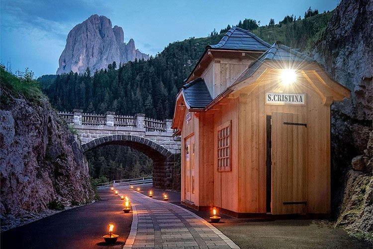 Sushi e Chianina sulle Dolomiti