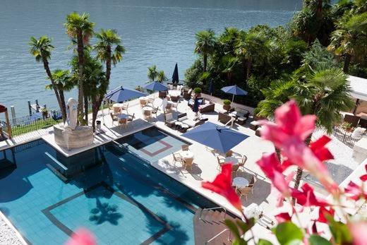 Swiss Diamond Hotel a Lugano Il lusso di un'atmosfera romantica