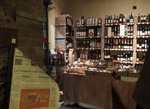 Tabernalibraria nel centro di TorinoDove gustare vini e cibi da tutta Italia