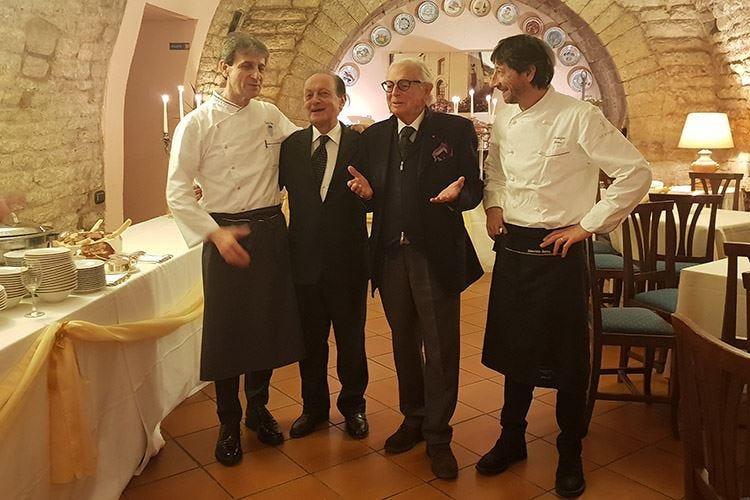 La Taverna del Lupo festeggia 50 anni Ospiti per l'occasione i fratelli Serva