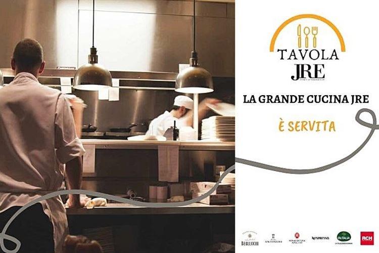 #TavolaJre, l'alta cucina è servita Menu degustazione a 50 euro