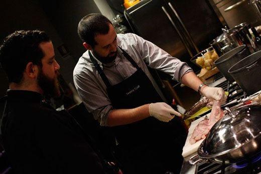 """Ciccio Sultano presenta """"Chef Corner""""  Lo store della scuola di cucina Teatro7"""