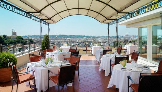 Awesome Ristorante Terrazza Roma Pictures - House Design Ideas 2018 ...
