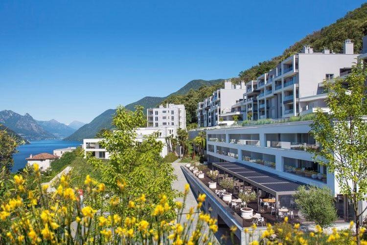 L'estate di The View Lugano Al TreCinqueZero cucina Ayurvedica