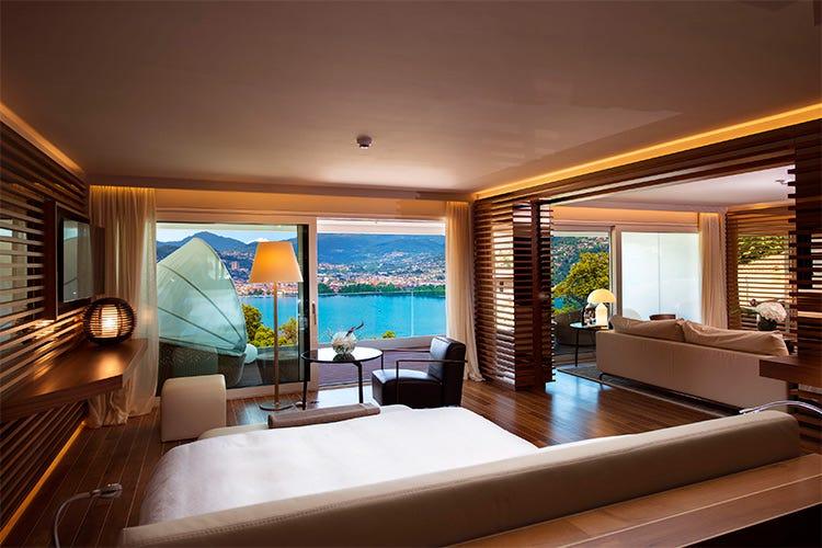 The view lugano boutique hotel di lusso con 18 suite da for Design boutique hotels schweiz