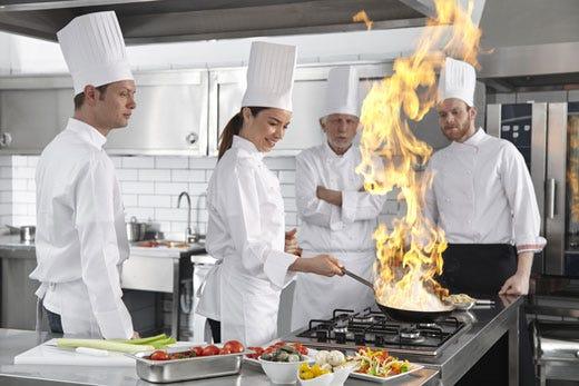 In cucina attenzione alle calzature per evitare il rischio - Rischi in cucina ppt ...