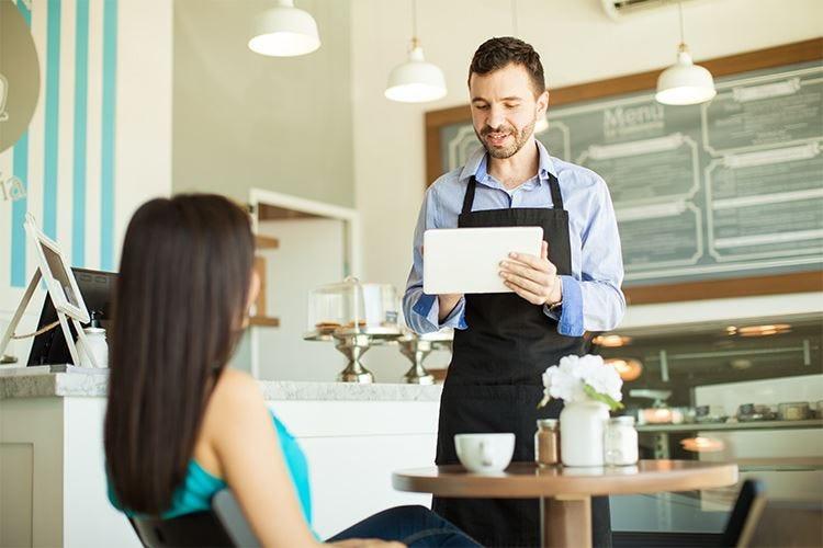 Dal menu sul tablet al conto via email La tecnologia al ristorante aiuta