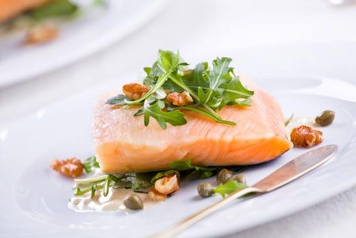 dieta a base di pesce e verdure