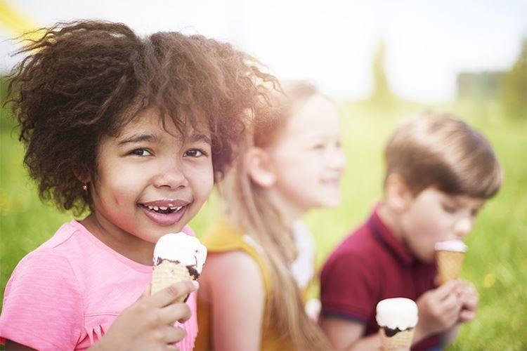 Il gelato fa bene, anche ai bambini Parte la campagna d'informazione dell'Igi