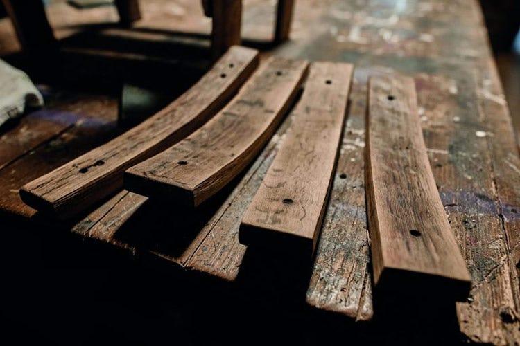 Dal legno delle botti Tinazzi nascono giocattoli, idee regalo e mobili - Dalle botti a mobili e giocattoli Il progetto sostenibile di Tinazzi