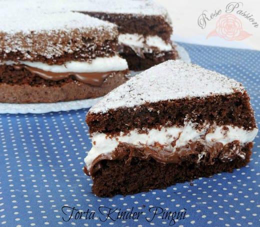 torta kinder pingu italia a tavola