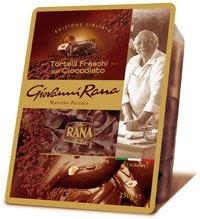 Rana innova, Tortelli con cioccolato