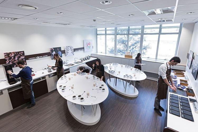 Training Center Lavazza Inaugura la prima sala Q-Grader d'Italia