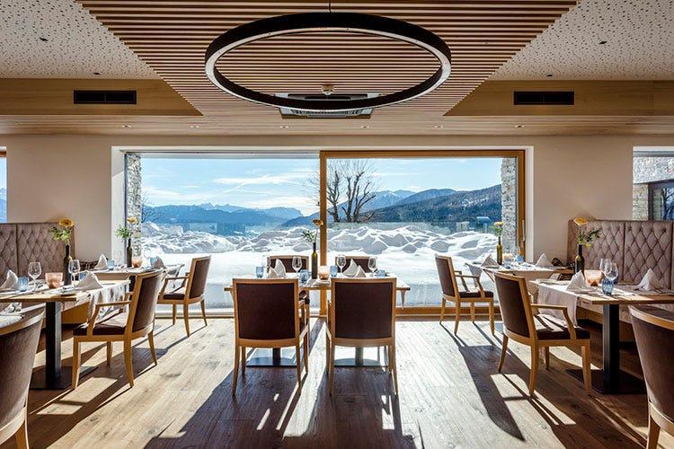 Al Tratterhof Hotel in Val Pusteria il loggione con sauna dell\'Alto ...
