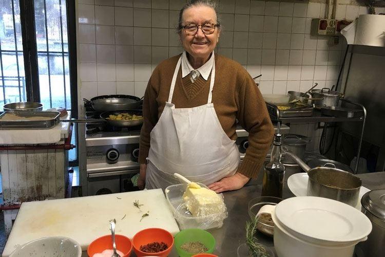"""Trattoria Casottel In cucina """"la"""" Isa e il suo estro"""