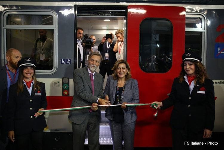Trenitalia, ecco i nuovi Intercity 300 milioni per una flotta moderna
