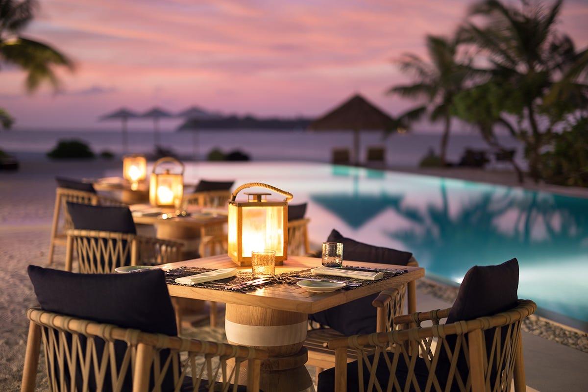 Maldive – Ristorante Ufaa, Como Cocoa Island Foto: Martin Morrell COMO Hotels and Resorts