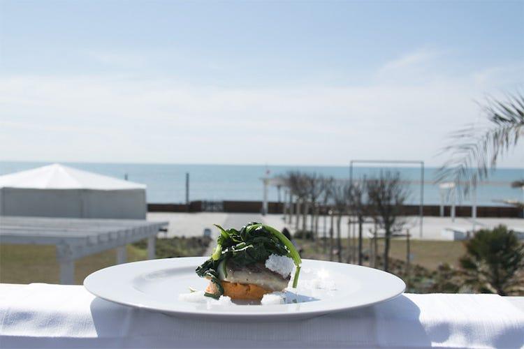A Ostia, stelle sulla spiaggia In cucina Trippini, Stabile e Cotilli - Italia a Tavola