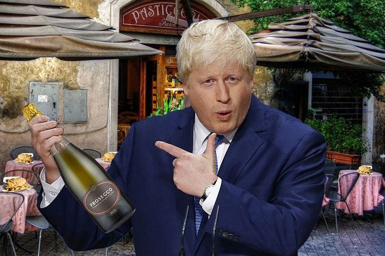 Uk, Johnson eletto PremierOra il Prosecco inizia a tremare