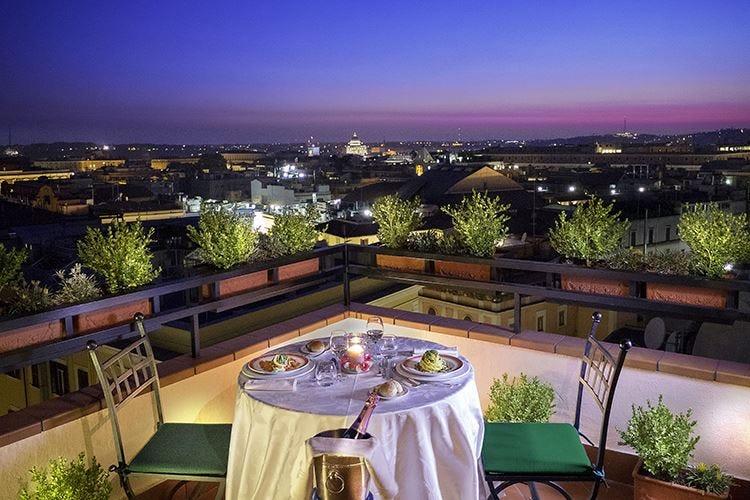 L'Uliveto all'Hotel Diana Giardino segreto sui tetti di Roma