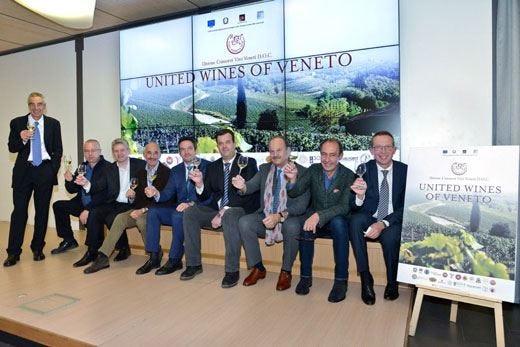Parte da Roma il progetto dell'Uvive I vini del Veneto alla conquista degli Usa