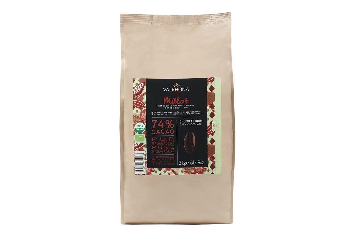 Il Grand Cru Millot 74% di Valrhona Millot 74%, il cioccolato biologico Valrhona per una filiera equa
