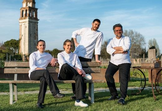 Quattro promesse della cucina italiana creano le nuove for Nuove ricette cucina