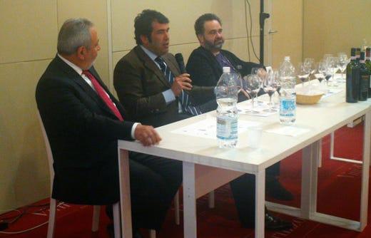 da sinistra: Tonino Verna, Alessandro Nicodemi e Alessandro Bocchetti