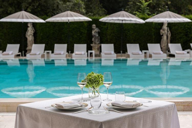 Menu vegano a 5 stelleper l'Hotel Villa Cora di Firenze